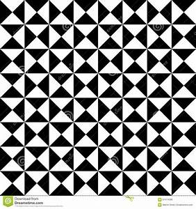 Vector Modern Seamless Geometry Pattern Tiles, Black And ...