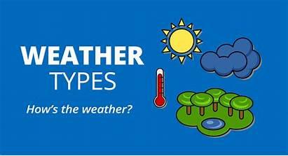 Weather Types Today Worksheet Esl