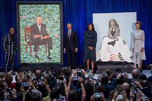 Barack Obama, Michelle Obama Portraits Official Unveiled ...