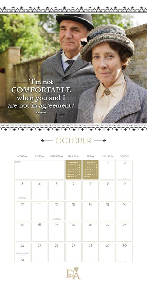 downton abbey calendars ukpostersukposters