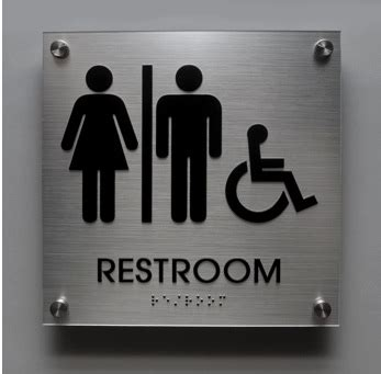 signs braille signs  compliant signs signs