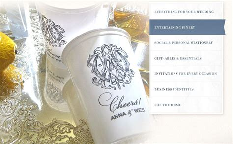 Alexa Pulitzer Custom Collections Gifts for wedding