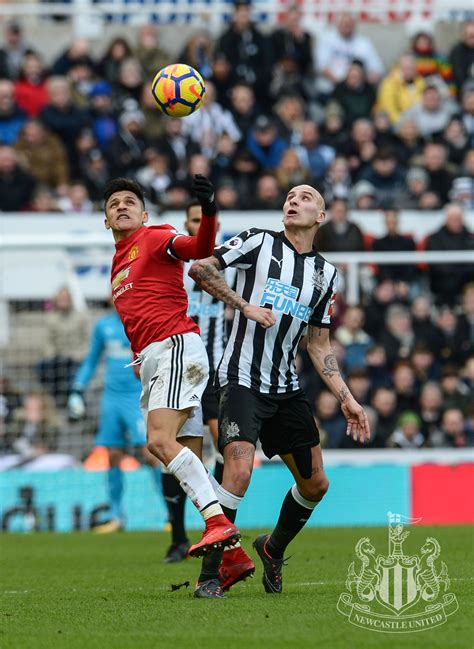 Newcastle United - Manchester United win in pictures
