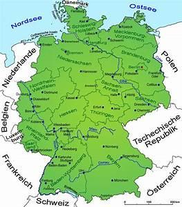 Deutschland Physische Karte : deutschland geografie landkarte l nder deutschland goruma ~ Watch28wear.com Haus und Dekorationen