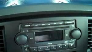 2006 Dodge Ram Radio