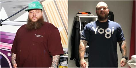 action bronson shows body transformation   pound