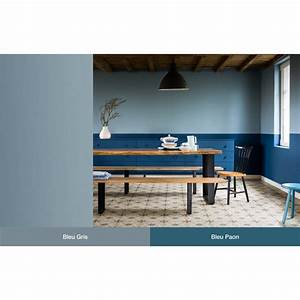 Bleu Paon Dulux : peinture multi supports dulux valentine creme de couleur mat bleu paon 2 5 l peinture couleur ~ Nature-et-papiers.com Idées de Décoration