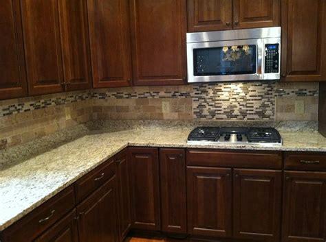 beautiful kitchen backsplash travertine and glass mosaic backsplash tile details by 1547