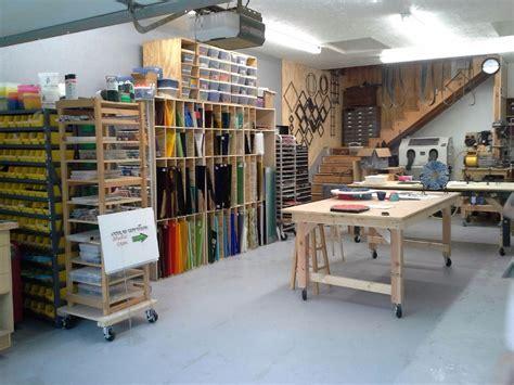 Craft Room Home Studio Setup by Kessler Craftsman Glass Studio Kessler Craftsman