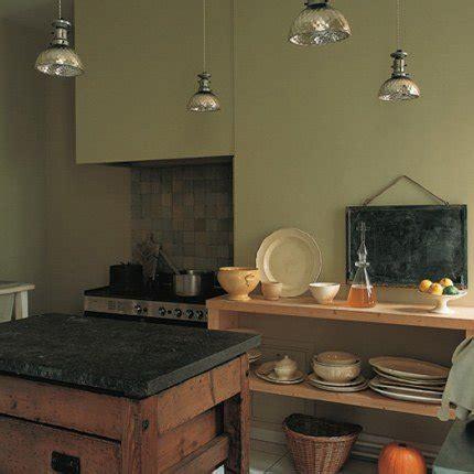 cuisine kaki kaki vert maison