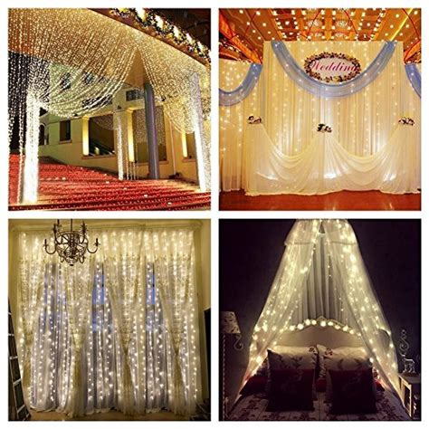 drape lights weddings curtain lights for weddings