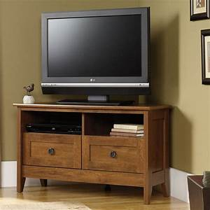 13 best images about tv stands on pinterest home design for Corner home theater furniture