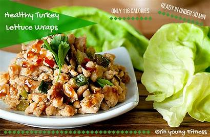 Turkey Eating Recipes Wraps Lettuce Fix Clean