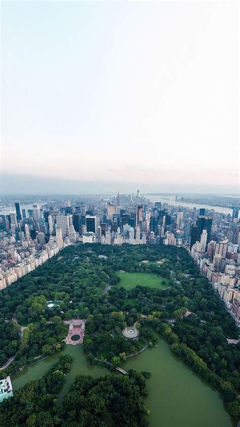 Android Lock Screen New Hd Wallpaper by New York Central Park Sky View Smartphone Wallpaper And