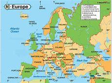 World map highlighting kazakhstan kalentri 2018 political map of europe free printable maps gumiabroncs Image collections