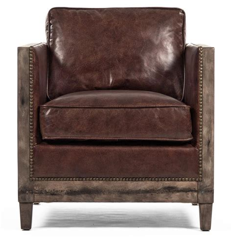 beck industrial rustic lodge masculine square frame brown