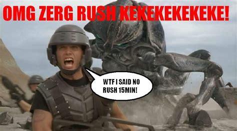 Zerg Rush Meme - image 18593 zerg rush know your meme