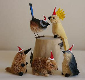 australian animal christmas tree brush hanging ornaments