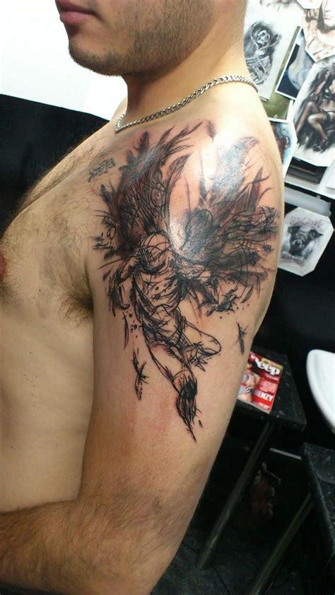 Tatouage Dos Homme Demon Tattooart Hd