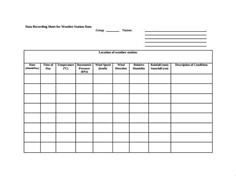 data sheet template 27 data sheet templates free sle exle format free premium templates