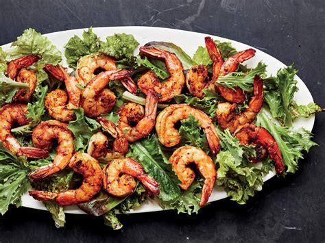 fiery indian shrimp brings  flavor
