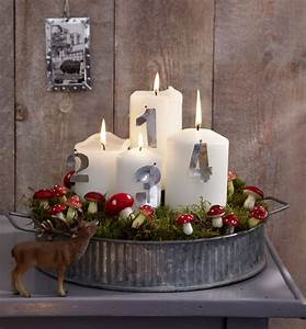 Adventskranz Ideen 2016 : adventskranz ideen google suche gestalten weihnachten ~ Frokenaadalensverden.com Haus und Dekorationen