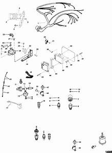 Marine Parts Plus Mercruiser Serial 5 0l 2 Bbl  Gm 305 V