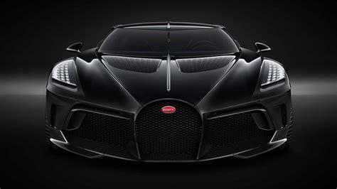 Bugatti La Voiture Noire Unveiled; Sold at $18.7 Million ...