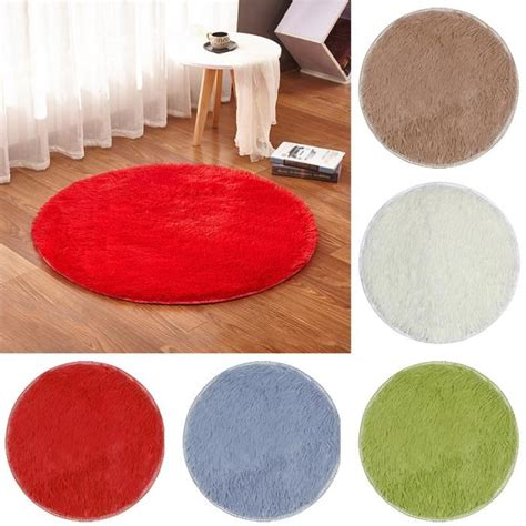 tapis rond rouge achat vente tapis rond rouge pas cher