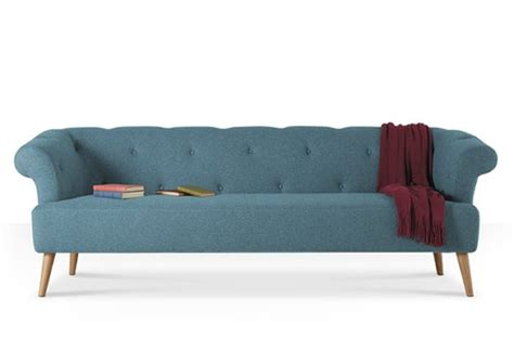 Contemporary Chesterfield Sofa by The Hettie Contemporary Chesterfield Sofa Colourful