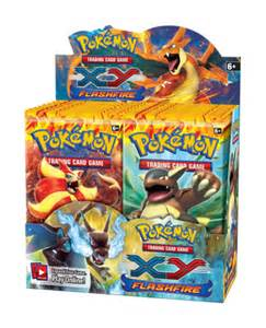 pokemon trading card game xy flashfire booster box 36 packs 7345