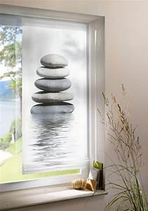 Raffrollo Weiß Grau : 1 st raffrollo rollo 80 x 140 wei oliv grau digital druck stein motiv neu ebay ~ Eleganceandgraceweddings.com Haus und Dekorationen