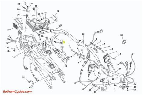 Ducati Rear Wiring Harness Monoposto Ecu Sps