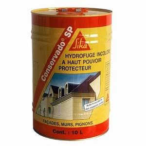 Hydrofuge Pour Pierre : sika conservado sp hydrofuge le bidon de 10 litres ~ Zukunftsfamilie.com Idées de Décoration