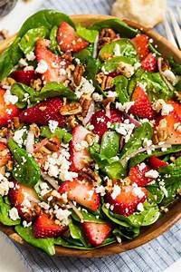 Spinach Strawberry Salad {With Poppy Seed Dressing ...
