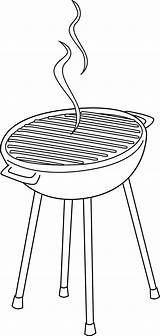 Grill Clipart Clip Coloring Barbeque Line Bbq Hotdog Transparent Border Clipground Webstockreview Sweetclipart sketch template