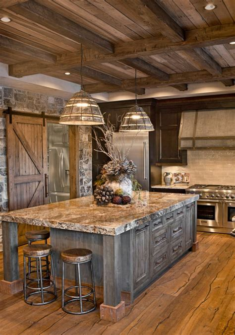 comptoir de cuisine en bois revger com comptoir de cuisine en bois rustique idée