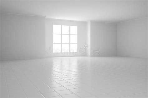 empty white room  square stock  image