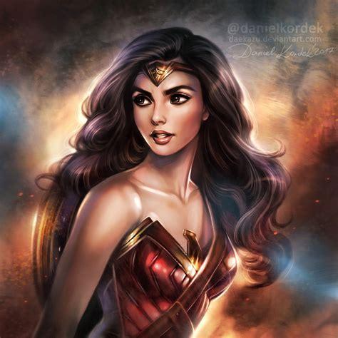 Wonder Woman Warrior Princess By Daekazu On Deviantart