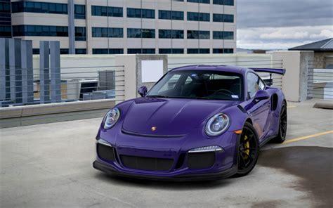 Sports Car Wallpaper 2015 Metallic by Wallpapers Porsche 911 Gt3rs 2018 Purple Sports