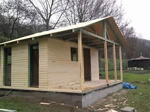Dřevěná chata svépomocí