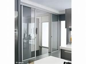 Panneau Separation Piece : panneau coulissant pour separer une piece maison travaux ~ Zukunftsfamilie.com Idées de Décoration