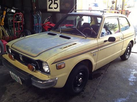 Find Used 1977 Honda Cvcc Hatchback Rare Automatic With