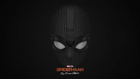 spider man   home stealth suit wallpaper