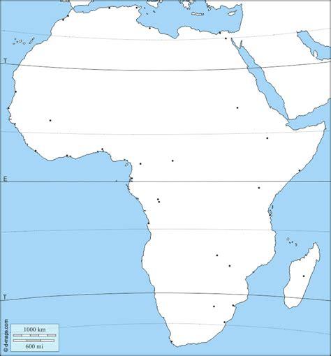 非洲: 边界, 主要城市, 纬度_非洲地图素材下载