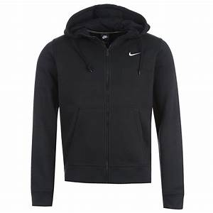 Nike Fundamentals Full Zip Hoody Mens Navy Sweater Jumper
