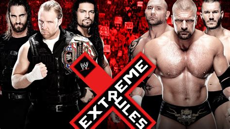 The Shield vs. Evolution - Extreme Rules - WWE 2K14 ...