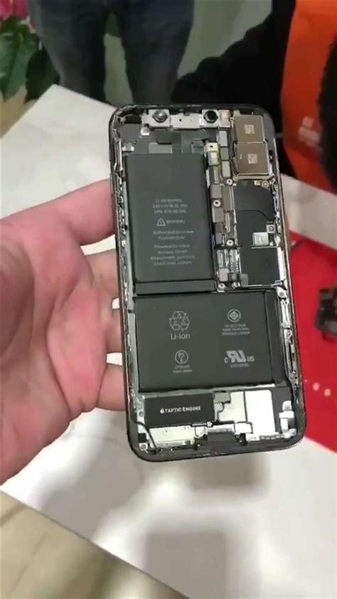 iphone x teardown shows its l shaped dual battery