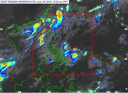 Pagasa Weather Map Forecast Western Southwest June