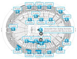 accessibility guide amway center